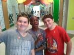 LBB, Red Ranger & PeaGreen