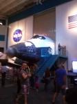 space shuttle cockpit simulator