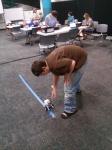 LBB testing his program