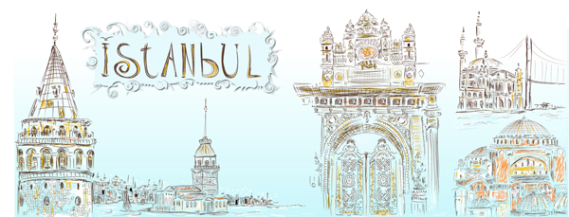 Istanbul-travel-illustration
